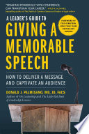 A Leader S Guide To Giving A Memorable Speech