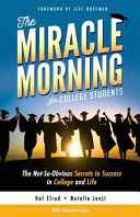 The Miracle Morning for College Students Book