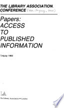 Papers, Access to Published Information