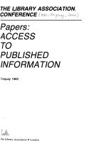 Papers  Access to Published Information