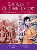 Sources in Chinese History