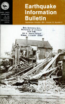 Earthquake Information Bulletin