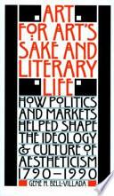 Art for Art s Sake   Literary Life