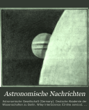 Astronomical notices