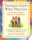 Teenagers Learn What They Live  : Parenting to Inspire Integrity & Independence