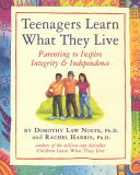 Pdf Teenagers Learn What They Live
