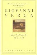 Pdf Little Novels of Sicily Telecharger