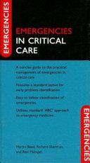 Emergencies in Critical Care Book