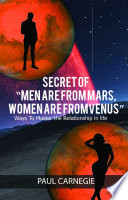 Secrets Of Men Are From Mars Women Are From Venus
