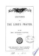 Lectures on the Lord s Prayer