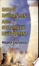 Energy  Environment And Sustainable Development Book