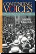Contending Voices  To 1877