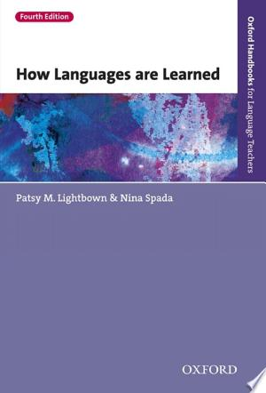 Download How Languages are Learned 4th edition - Oxford Handbooks for Language Teachers Free PDF Books - Free PDF