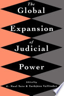 The Global Expansion of Judicial Power