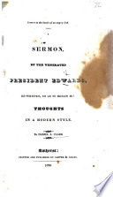 Sinners in the hands of an angry God  A sermon on Deut  xxxii  35     Third edition Book PDF