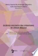 Escritos discentes em literaturas de l  ngua inglesa