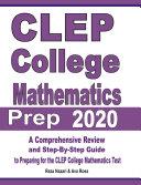 CLEP College Mathematics Prep 2020 Pdf/ePub eBook