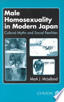Male Homosexuality In Modern Japan