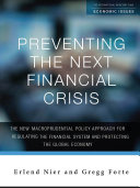 Preventing the Next Financial Crisis