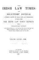 The Irish Law Times Reports