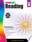 """Spectrum Reading Workbook, Grade 8"" by Spectrum"