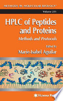 HPLC of Peptides and Proteins