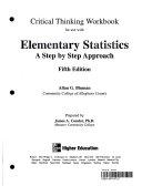Critical Thinking Elementary Statistics