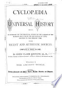 Cyclopaedia of Universal History Book PDF