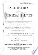 Cyclopaedia of Universal History