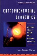 Entrepreneurial Economics Pdf/ePub eBook