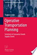Operative Transportation Planning