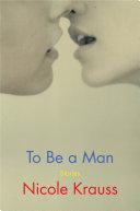 To Be a Man Pdf/ePub eBook