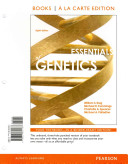 Essentials of Genetics  Books a la Carte Plus Masteringgenetics with Etext    Access Card Package