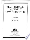 Martindale - Hubbell Law Directory 1998