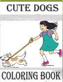 Cute Dogs.Coloring Book