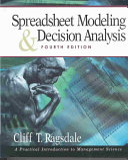 Spreadsheet Modeling   Decision Analysis Book