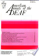American Annals of the Deaf
