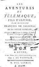 Les Aventures de Télémaque, fils d'Ulysse ebook