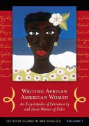 Cover image of book Writing African American Women