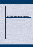 Machining of Natural Stone Materials [Pdf/ePub] eBook
