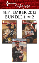 Harlequin Desire September 2013 - Bundle 1 of 2