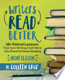 Writers Read Better  Nonfiction