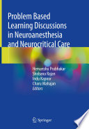 Problem Based Learning Discussions in Neuroanesthesia and Neurocritical Care