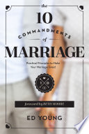The 10 Commandments of Marriage Book