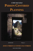 A Little Book about Person Centered Planning