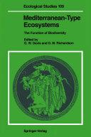 Mediterranean-Type Ecosystems [Pdf/ePub] eBook