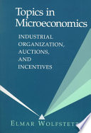 Topics in Microeconomics