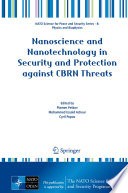 Nanoscience And Nanotechnology In Security And Protection Against Cbrn Threats Book PDF