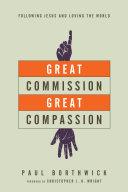 Great Commission, Great Compassion Pdf/ePub eBook