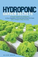 Hydroponic Garden Secrets